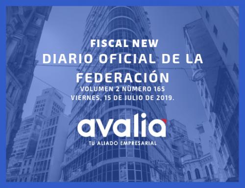 DIARIO OFICIAL DE LA FEDERACIÓN 07 DE MAYO DE 2019